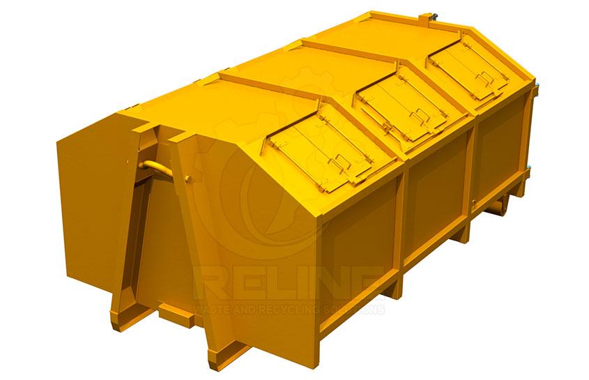 Мультилифт контейнер с люками