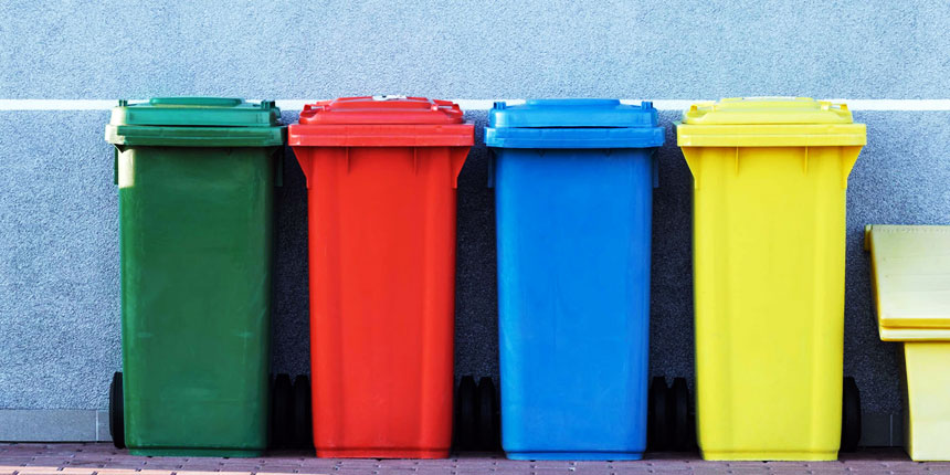 Контейнеры для сортировки мусора
